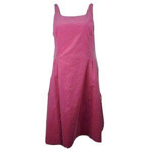 NWT ISAAC MIZRAHI Pink Dress Size L